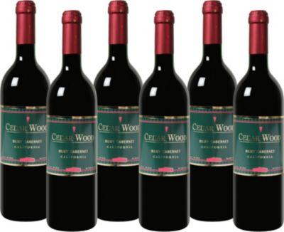 Cedar Wood - Ruby Cabernet - Central Valley Rotwein aus Kalifornien 2014 trocken