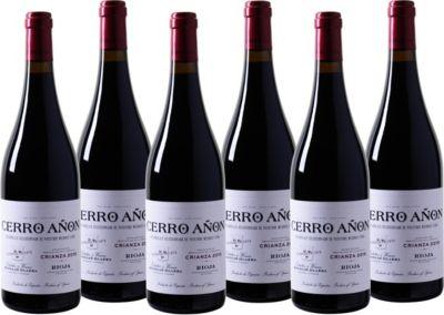 6 Fl. Cerro Añon Crianza Rioja DOCa Rotwein Spa...
