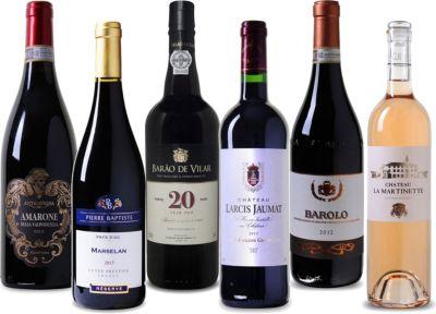 Wein Überraschungspaket Weinkenner Probierpaket...