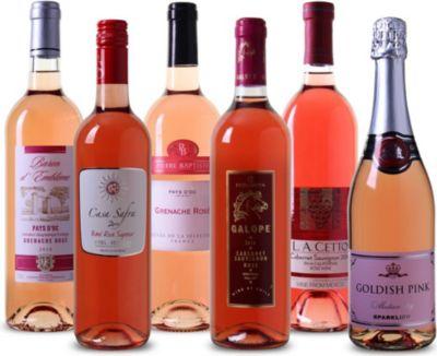 Wein Probierpaket Rosé Rosé, Probierpaket