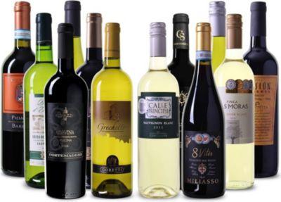 Wein Überraschungspaket 12 Flaschen gemischt