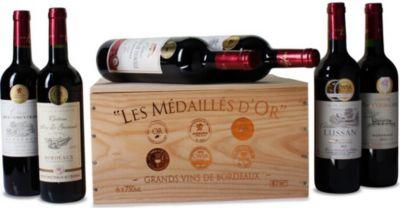 Goldprämierte Bordeaux-Selektion (6-er OHK) Fra...