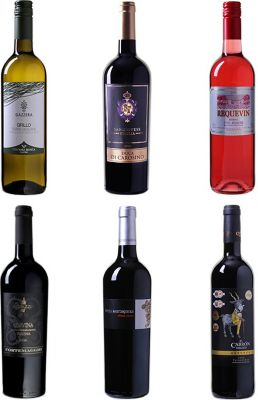 Wein Probierpaket Mittelmeer-Charme Diverse Div...