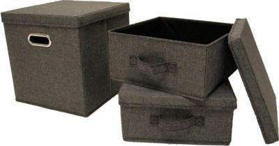 aufbewahrungsbox stoff preisvergleich die besten angebote online kaufen. Black Bedroom Furniture Sets. Home Design Ideas