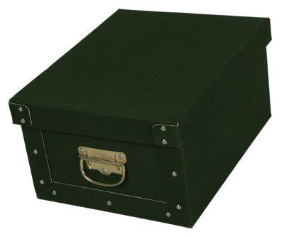 Deko-Karton Bauli Ordnungsboxen Baumwolle Grün Aufbewahrungsbox für Haushalt Büro Wäsche Geschenkbox Dekokarton Sammelbox Mehrzweckbox Ordnungskarton Ordnungsbox Geschenkekarton