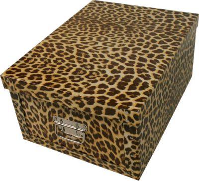 Deko Karton Ordnungsboxen Bauli Motiv ´´Gepard´´ Aufbewahrungsbox Aufbewahrungsbox für Haushalt Büro Wäsche Geschenkbox Dekokarton Sammelbox Mehrzweckbox Ordnungskarton Ordnungsbox Geschenkekarton