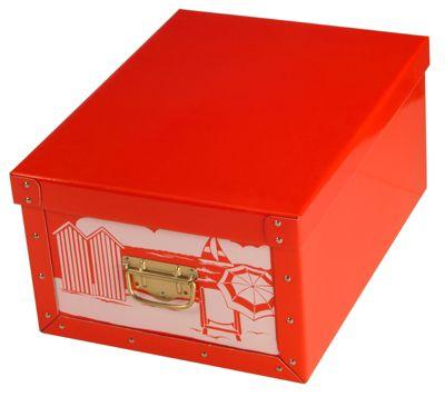 Ordnungsboxen Deko Karton Bauli Motiv Sommer / Winter Aufbewahrungsbox