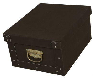 Deko-Karton M Bauli Ordnungsboxen Baumwolle Kaffee Aufbewahrungsbox
