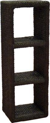 Regal-Turm - braun hoch oder quer zu verwenden Büro Flur Regal Schrank Steckregal Wandregal Sideboard