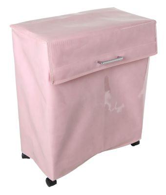 Wäschesammler Wäschebehälter Space Saver Lack Rosa Wäschebehälter Wäschesortierer Wäschetruhe Wäschetonne Wäschebox