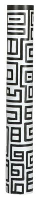 Design Mango-Holz-Vase schwarz-weiß
