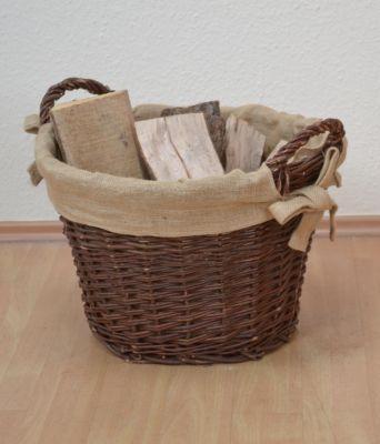 Holzkorb aus Weide _ Weidenkorb _ Flechtkorb _