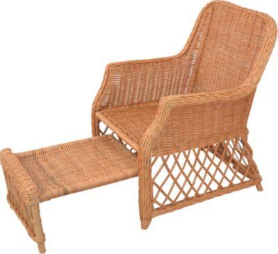 möbel direkt online Rattansessel Donald | Wohnzimmer > Sessel > Rattansessel | Honigfarben | Kubu - Rattan - Gebeizt | Möbel direkt online
