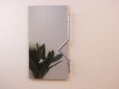 spiegel mit metallrahmen preis vergleich 2016. Black Bedroom Furniture Sets. Home Design Ideas