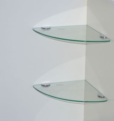moebel direkt online Eck-Glasböden 2 Stück _ Sc...