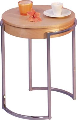 moebel direkt online Beistelltisch _ Tisch mit abnehmbarer Platte _ Tisch mit Ablagefach _ In 2 Farben lieferbar