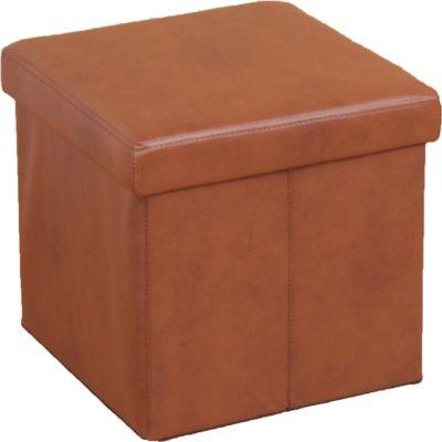 moebel direkt online Sitzwürfel _ Hocker _ Sitzhocker _ In 6 trendigen Farben lieferbar | Wohnzimmer > Hocker & Poufs > Sitzwürfel | Creme - Weiß | Kunstleder | Möbel direkt online