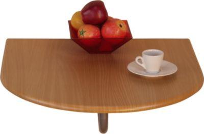 Wandtisch _ Klapptisch _ Küchen-Wandtisch _ Sparraumtisch zum Abklappen _ In 2 Farben lieferbar