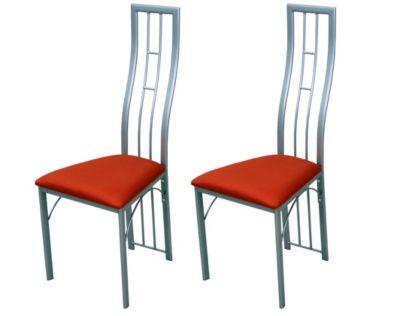 moebel direkt online Metallstuhl im 2er-Pack
