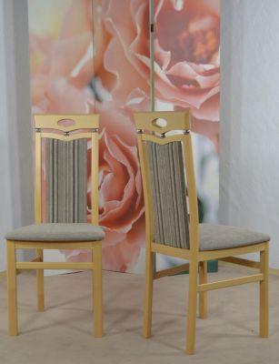 Stuhl ´´Lupus´´ Massivholz 2er Set