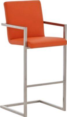 edelstahl barhocker phoenix freischwinger bar stuhl mit armlehne sitzh he 76 cm bis zu 11. Black Bedroom Furniture Sets. Home Design Ideas