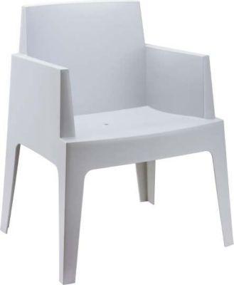 Design Bistrostuhl Gartenstuhl BOX, Kunststoff, stapelbar, wasserabweisend, UV-beständig