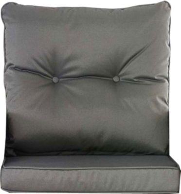 10er Kissen Set für Gartengarnitur FISOLO Flachrattan, aus 100 % Polyester, bis zu 5 Farben wählbar