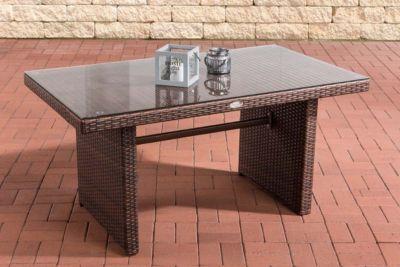 gartentisch polyrattan preisvergleich die besten. Black Bedroom Furniture Sets. Home Design Ideas