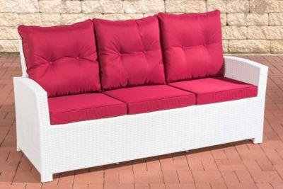 clp-polyrattan-sofa-fisolo-mit-3-sitzplatzen-i-gartensofa-mit-aluminium-gestell-i-couch-mit-polsterauflagen-i-in-verschiedenen-farben-erhaltlich, 419.99 EUR @ plus-de