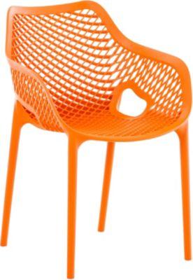 Stapel Stuhl AIR XL, Bistrostuhl Stapelbar, Max. Belastbarkeit: 130 Kg,
