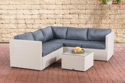 Clp Lounge Set Liberi I Polyrattan Möbelgarnitur I Gartenmöbel Set