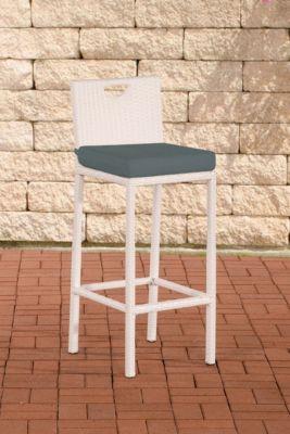 polyrattan outdoor barhocker mari mit sitzkissen in. Black Bedroom Furniture Sets. Home Design Ideas