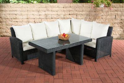 CLP Gartengarnitur MINARI Sitzgruppe mit 6 Sitzplätzen Gartenmöbel ...