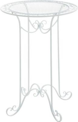 Stehtisch THALIA, rund Ø 70 cm, Höhe 100 cm, Eisen (Metall), Design antik nostalgisch