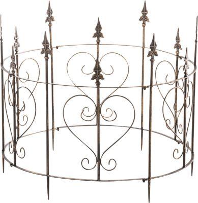 clp metall staudenhalter strauchhalter rankger st madita viele wundersch ne verzierungen. Black Bedroom Furniture Sets. Home Design Ideas