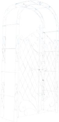 rosenbogen eisen preis vergleich 2016. Black Bedroom Furniture Sets. Home Design Ideas