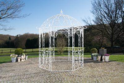 Shopthewall Runder Metall Garten Pavillon Leila Aus Eisen