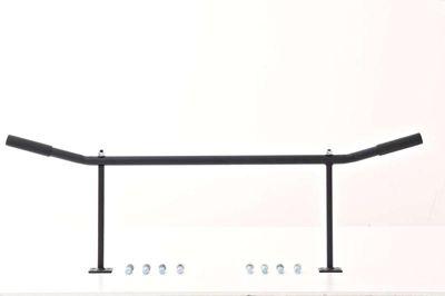 Klimmzugstange (30 cm) mit Deckenhalterung & inkl. Befestigungsmaterial, Qualitätsprodukt, bis 350 kg belastbar