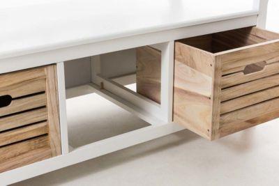 sitzbank mit lehne preisvergleich die besten angebote online kaufen. Black Bedroom Furniture Sets. Home Design Ideas