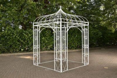 quadratischer-rosenbogen-metall-pavillon-manja-ca-200-x-200-cm-hohe-305-cm-bis-zu-6-farben-wahlbar, 469.00 EUR @ plus-de