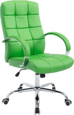 CLP Chefsessel MIKOS mit hochwertiger Polsterung und Kunstlederbezug Höhenverstellbarer Schreibtischstuhl mit Laufrollen