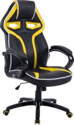 gaming b ro stuhl schumi max belastbarkeit 150 kg kunstleder bezug chefsessel mit. Black Bedroom Furniture Sets. Home Design Ideas