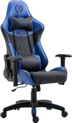 racing-burostuhl-monsano-mit-kunstlederbezug-max-belastbar-bis-136-kg-gaming-stuhl-gaming-chefsessel-racer-mit-ohne-fu-ablage-wippmechanismus-, 144.99 EUR @ plus-de