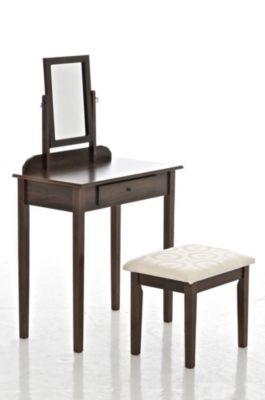 clp-frisierkommode-diana-mit-gepolstertem-hocker-und-neigbarem-spiegel-schminktisch-aus-holz-mit-schublade