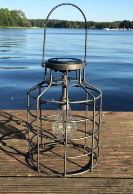 HTI Living HTI-Living Solarlaterne Industrie Jar