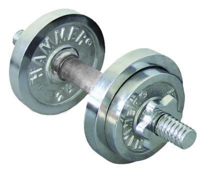 Chrom-Kurz-Hantelset 10 kg