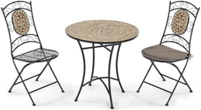 balkonm bel set metall. Black Bedroom Furniture Sets. Home Design Ideas