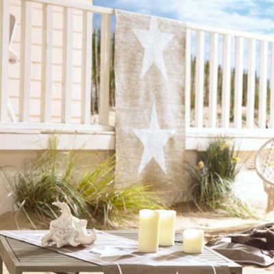 Trendfabrik Best of home Outdoor-Wendeteppich Stars 120 cm x 180 cm