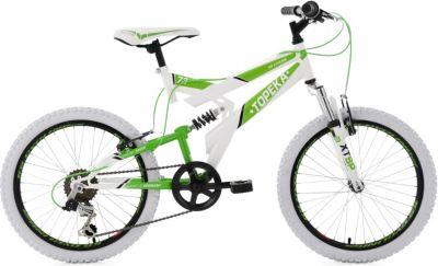 Kinderfahrrad Mountainbike Fully 20 Zoll Topeka