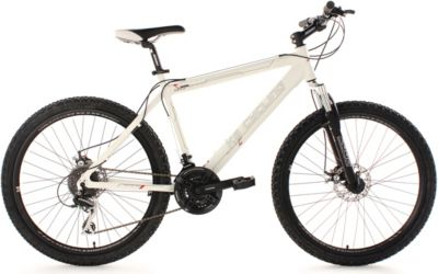 KS Cycling Hardtail Mountainbike 24 Gänge Heed (weiß) 26 Zoll